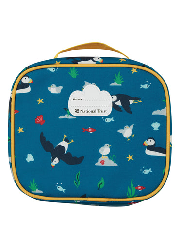 Image of Frugi The National Trust Pack A Snack Lunch Bag - Puffin