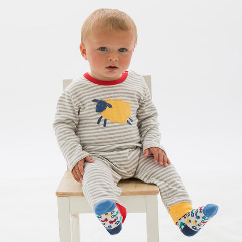 Kite Sleepy sheepy romper - Organic Cotton