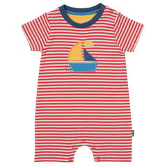 Kite Sailboat romper - Organic Cotton
