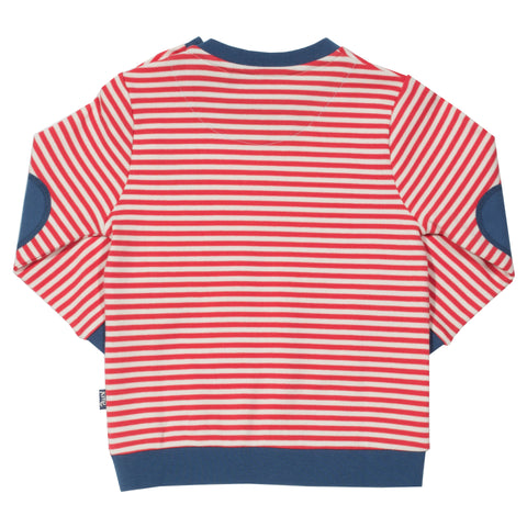 Kite Stripy Sweatshirt - Organic Cotton