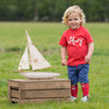 Image of Kite Mini yacht shorts - Organic Cotton