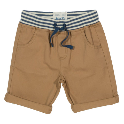 Kite Mini yacht shorts sand - Organic Cotton