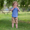 Image of Kite Mini yacht shorts sand - Organic Cotton
