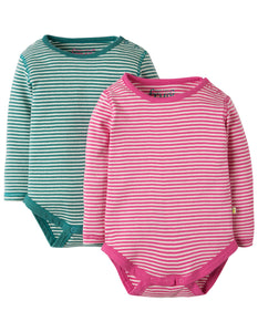 Frugi Pointelle 2 Pack Body - Organic Cotton