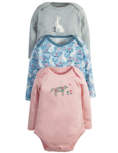 Frugi Super Special Body - Arctic Hare 3 Pack