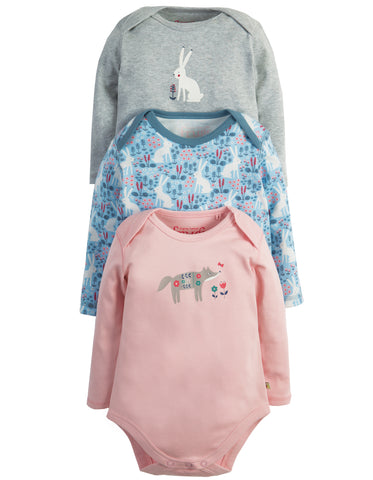 Image of Frugi Super Special Body - Arctic Hare 3 Pack