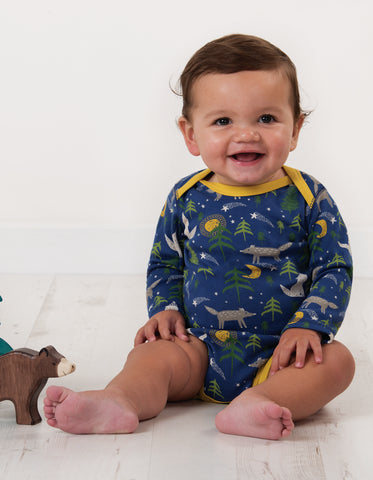Frugi Special 3 Pack Body - Wolf