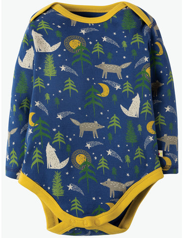 Frugi Special 3 Pack Body - Wolf - Tilly & Jasper
