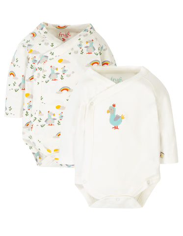 Frugi Littlest 2 Pack Body - Dodo Multipack