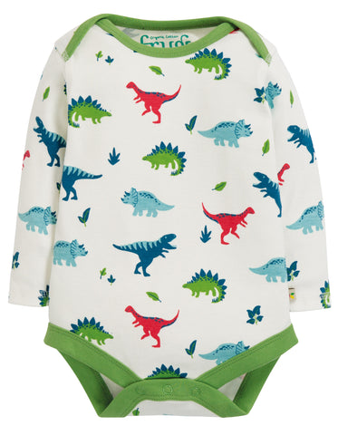 Frugi Super Special 3 Pack Body - Dino Multipack