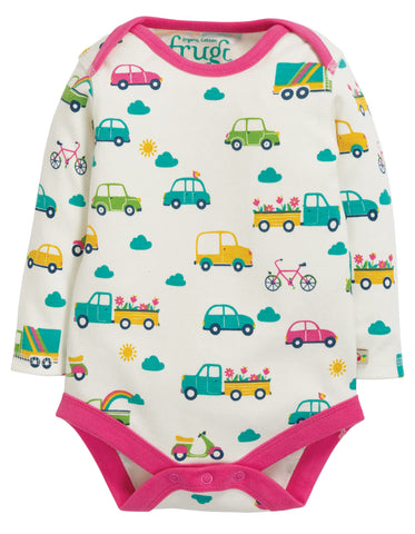 Image of Frugi Super Special 3 Pack Body - Transport Multipack