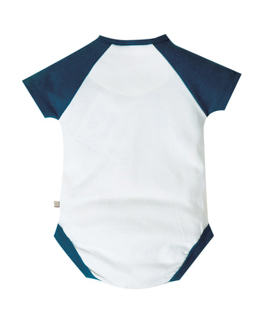 Image of Frugi Bodhi Body - Soft White/Boats