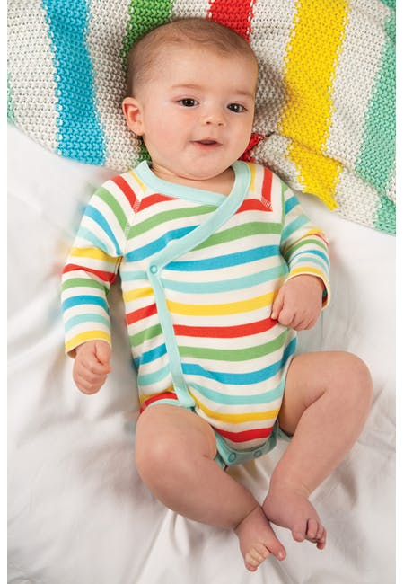 Frugi Shay 2 Pack Body - Rainbow Mulitpack
