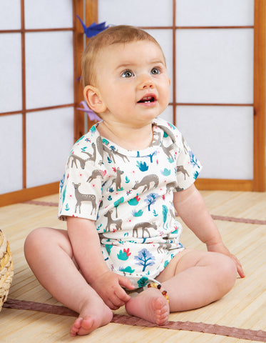 Image of Frugi Super Special 3 Pack Body - Deer