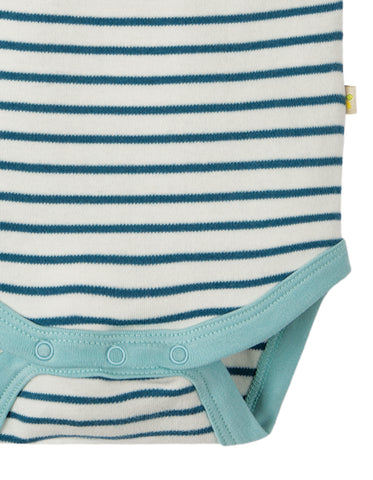 Frugi Bailey 2 Pack Body - Pelican Party Multipack - Tilly & Jasper