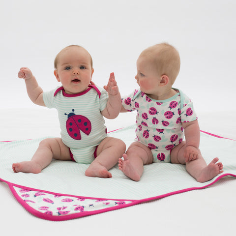 Kite ladybird bodysuit - Organic Cotton