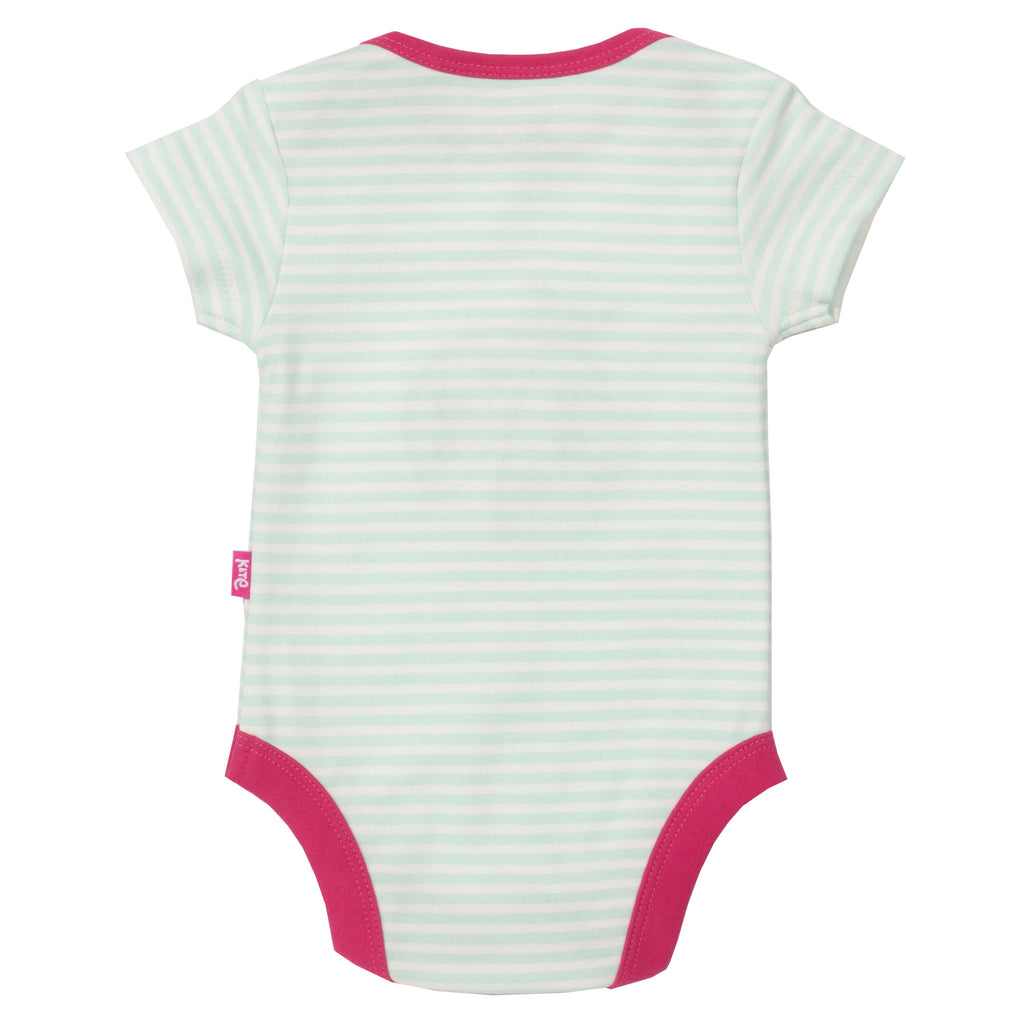 Kite Stripy ladybird bodysuit - Organic Cotton