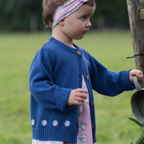 Kite Daisy Cardy - Organic Cotton