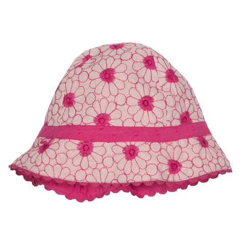 Kite Broderie hat - Organic Cotton
