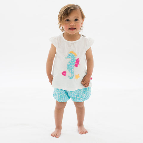 Image of Kite Seahorse set - Organic Cotton
