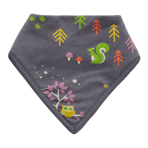 Piccalilly Bandana Bib - Winter Woodland