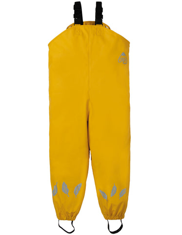 Frugi Puddle Buster Trousers - Bumble Bee - Tilly & Jasper