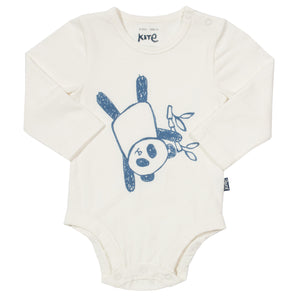 Kite Panda bodysuit - Organic Cotton