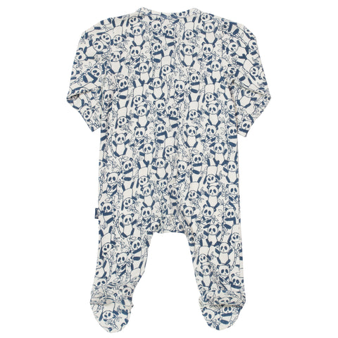 Image of Kite Panda zippy sleepsuit - Organic Cotton