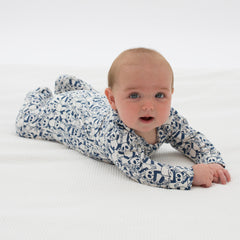 Kite Panda zippy sleepsuit - Organic Cotton