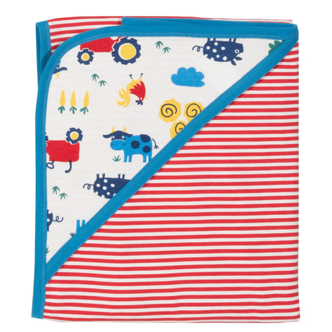 Kite Farm Life blanket