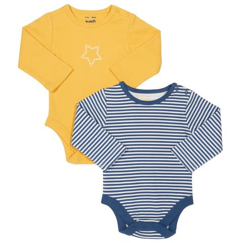 Kite Stripy 2 Pack Bodysuit