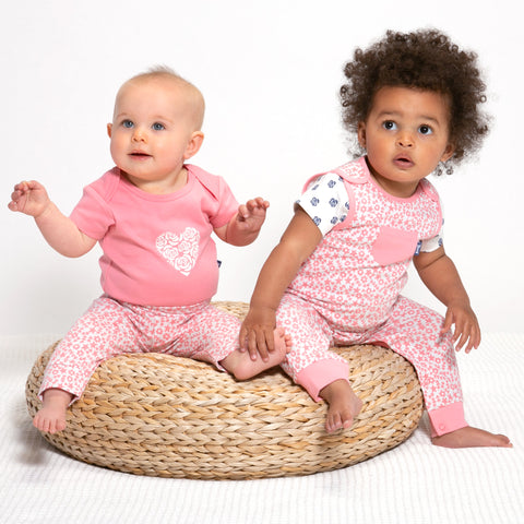 Kite Polka Rose 2 Pack Bodysuit