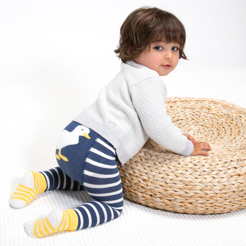 Image of Kite Duckling Knit Leggings - Tilly & Jasper