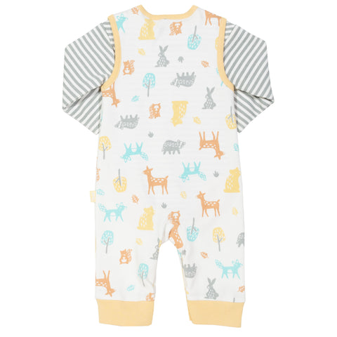 Image of Kite Woodland Dungaree Set
