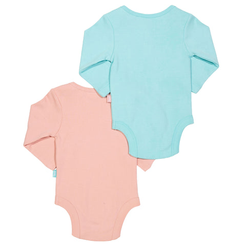 Kite Heart 2 Pack Bodysuit