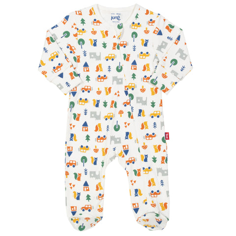 Image of Kite Brownsea Sleepsuit