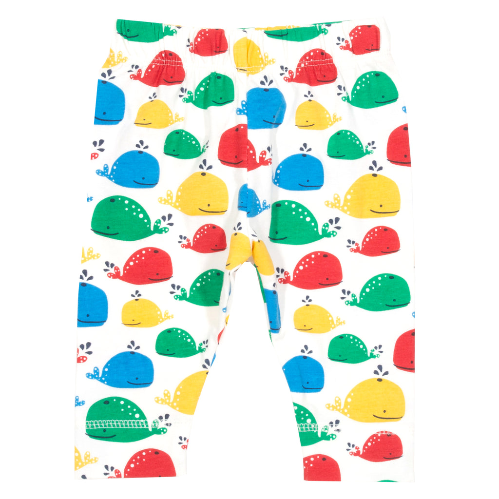 Kite Rainbow Whale Leggings