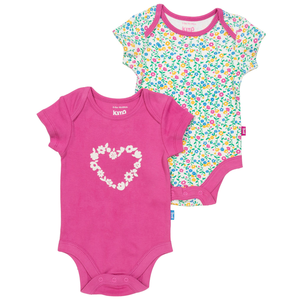 Kite Wildflower 2 pk Bodysuit