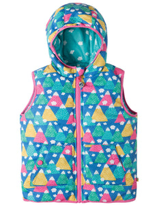 Frugi Explorer Gilet - Happy Hikers - Tilly & Jasper