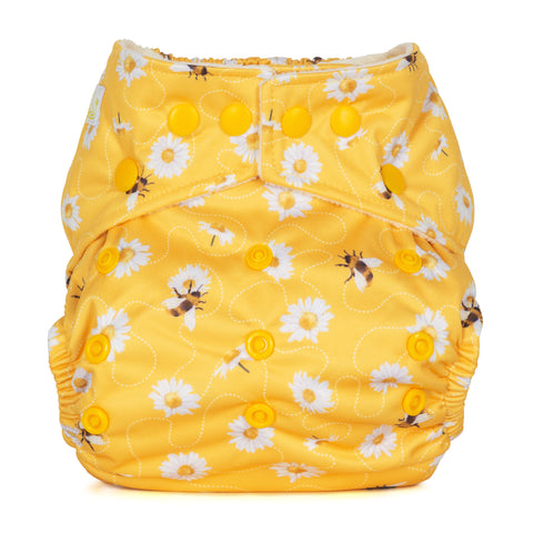 Baba & Boo One Size Nappy - Daisies