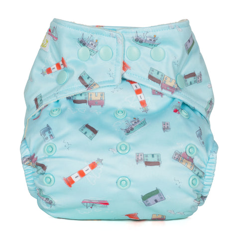 Image of Baba & Boo One Size Nappy - Harbour