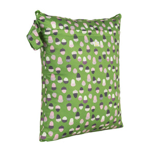 Baba & Boo Acorns Double Zip Reusable Nappy Storage Bag (Medium)
