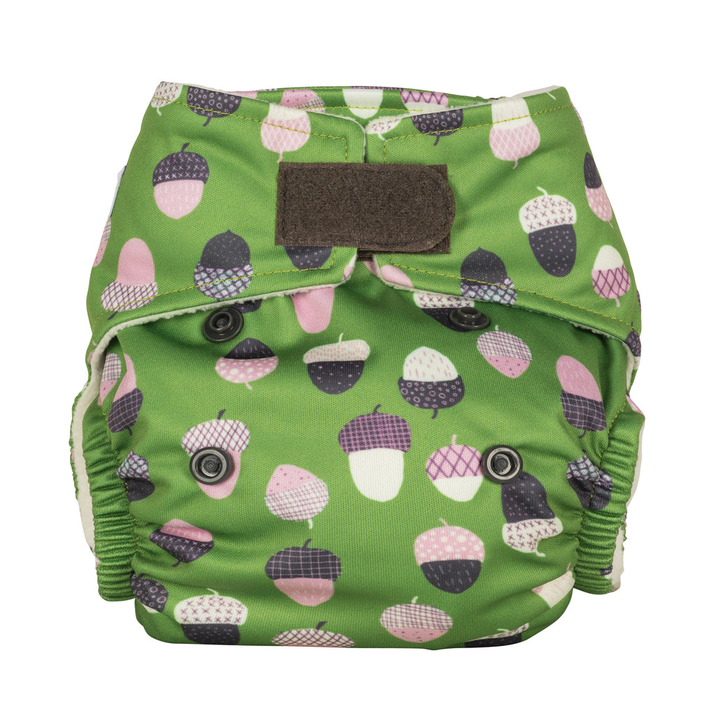 Baba & Boo Newborn Nappy - Acorns