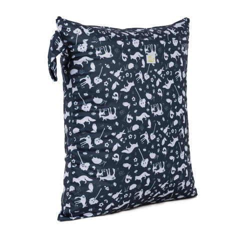 Baba & Boo Nightfall Double Zip Reusable Nappy Storage Bag (Medium)
