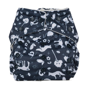 Baba & Boo One Size Nappy - Nightfall