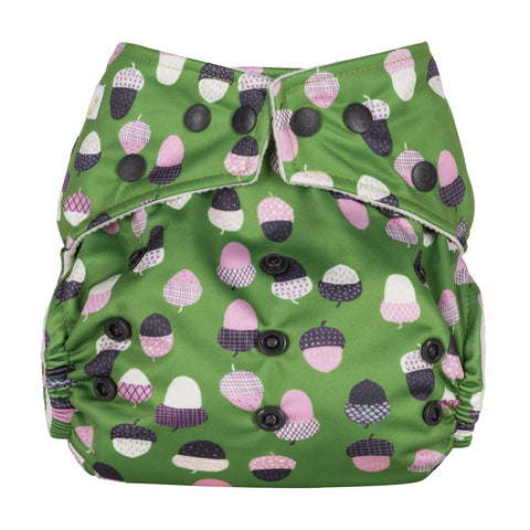 Baba & Boo One Size Nappy - Acorns