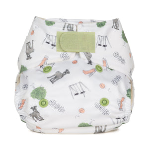 Baba & Boo Newborn Nappy - Outdoor Play