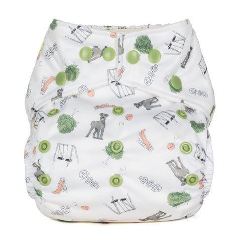 Image of Baba & Boo One Size Nappy - Outdoor Play