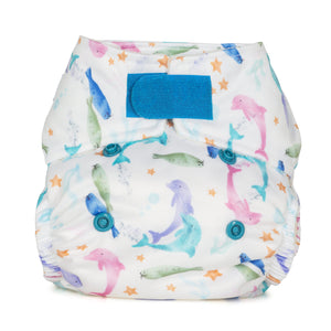 Baba & Boo Newborn Nappy - Sea Life