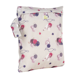 Baba & Boo Knitting Reusable Nappy Storage Bag (Small)